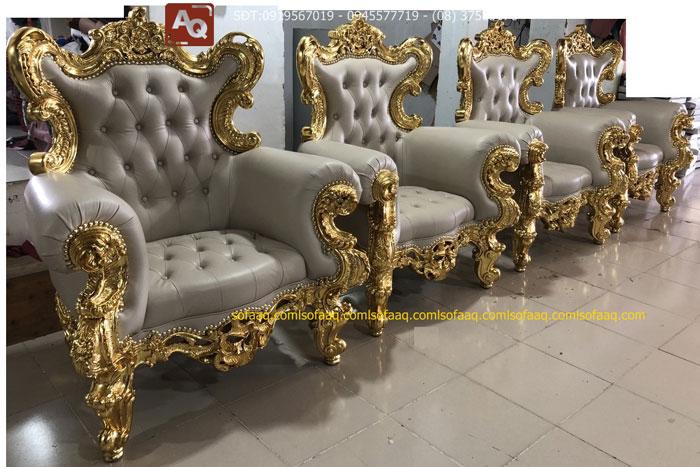 Sofa cao cấp tại Nội thất Anh Quới chứa đầy đủ